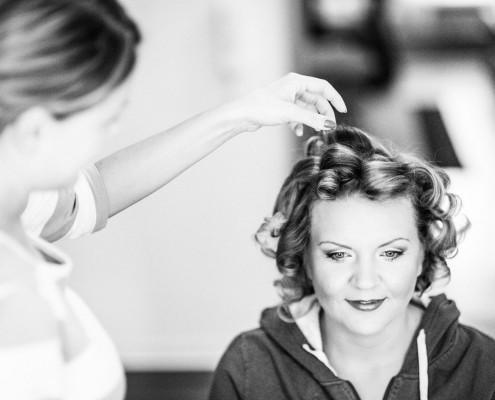 Getting Ready, Hochzeitsfotos, Vorbereitungen, Schminken, Kitzingen