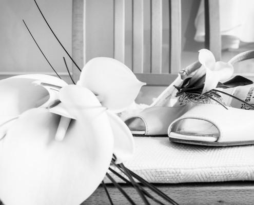 Getting Ready, Hochzeitsfotos, Vorbereitungen, Schuhe, Dittelbrunn