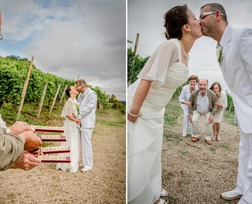 Hochzeitsreportage, Weingut
