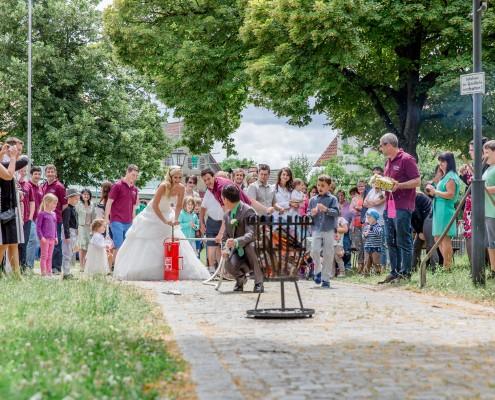 Hochzeitsreportage, kreativ, Ebrach
