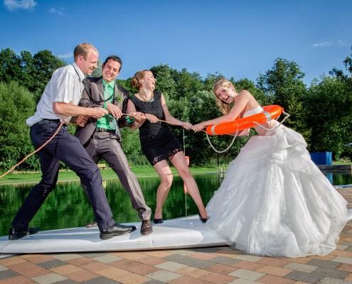Ausgefallene Hochzeitsreportage, Ebrach