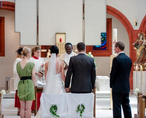 Hochzeitsreportage, Kirche, Kitzingen