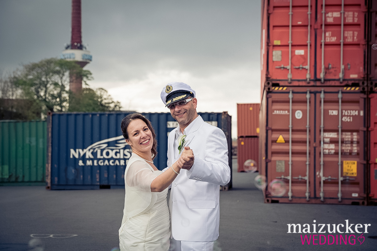 maizuckerwedding, Hochzeit, Unterfranken, Hochzeitsfotos, Schweinfurt, Wedding, Hochzeitsportraits, Hafen, Kapitän