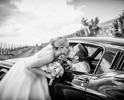 Romantische Hochzeitsfotos, Paarshooting, Weingut am Stein, Würzburg