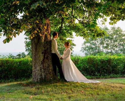 Romantische Hochzeitsfotos, Paarshooting, Bad Frankenhausen