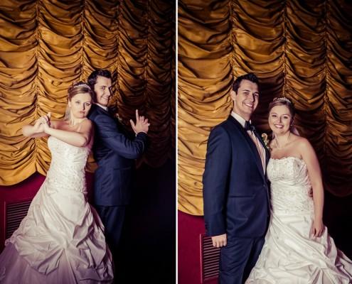 Coole Hochzeitsfotos, Paarshooting, Kino, Schweinfurt