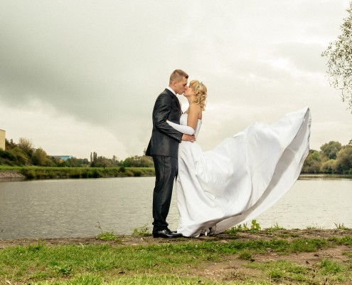 Romantische Hochzeitsfotos, Paarshooting, Bonnie & Clyde, Schweinfurt
