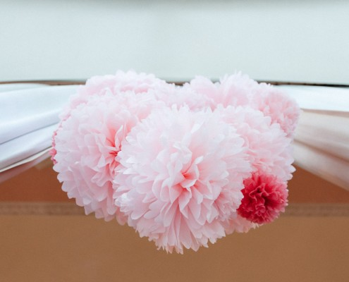 Detailfoto Hochzeit, Wedding, Makro, Girlande