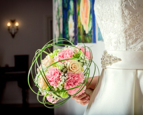 Hochzeitsblumenstrauß, Detailfoto Hochzeit, Wedding