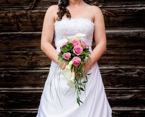 Hochzeitsblumenstrauß, Detail, Detailfoto Hochzeit, Wedding