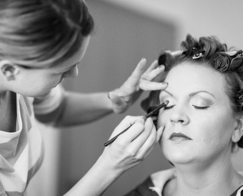 Getting Ready, Hochzeitsfotos, Vorbereitungen, Makeup, Kitzingen