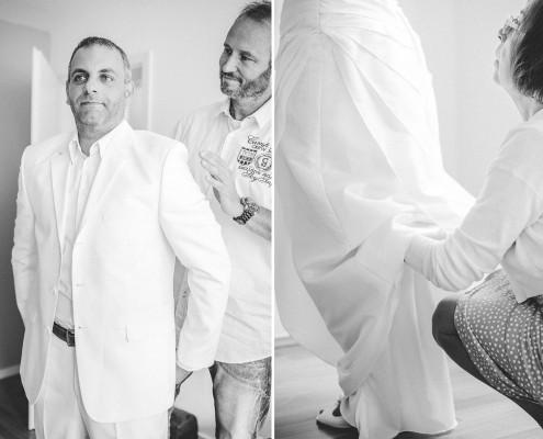 Getting Ready, Hochzeitsfotos, Vorbereitungen, Ankleiden, Dittelbrunn