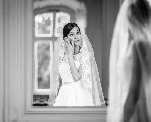 Getting Ready, Hochzeitsfotos, Schlosshotel Bad Neustadt