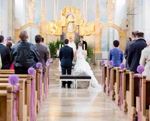 Hochzeitsreportage, Kirche, Grafenrheinfeld
