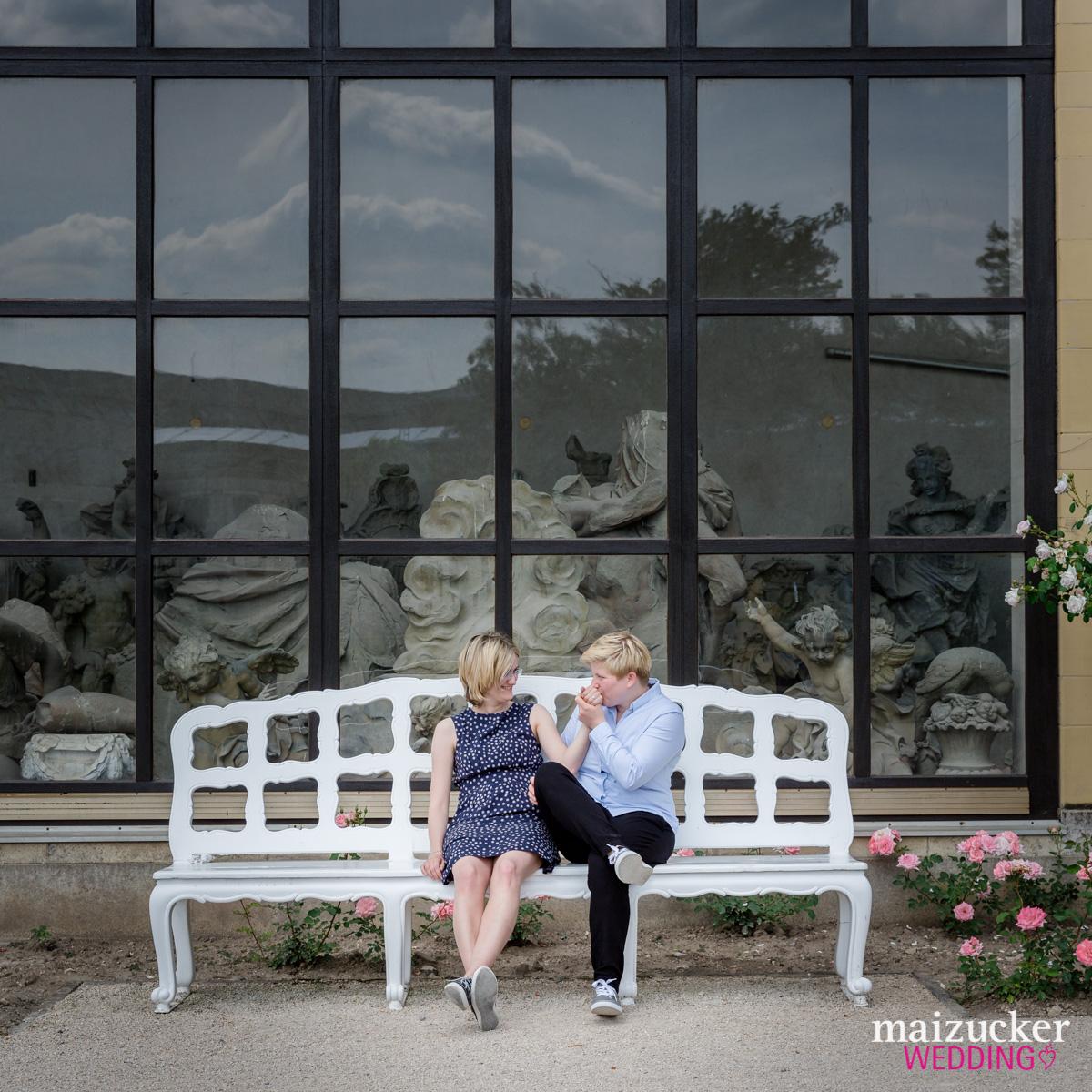 maizuckerwedding, engagement, wuerzburg, gay, queer, lesbisch, residenz würzburg