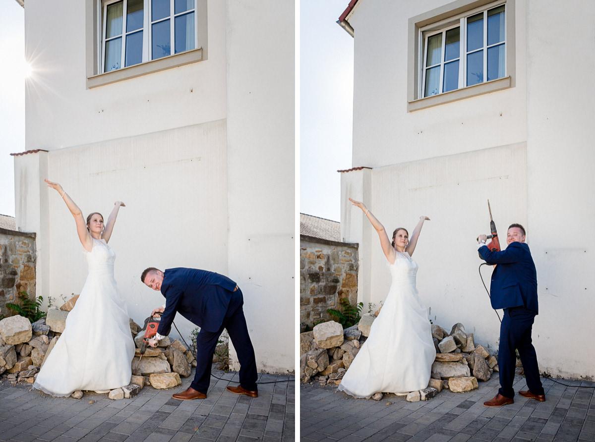 Hochzeit Schweinfurt, Standesamtliche Trauung Bettina Christian, Standesamt Schweinfurt, Brickhouse, Hochzeitsfotografin Daggi Binder, Hochzeitsfotos maizucker