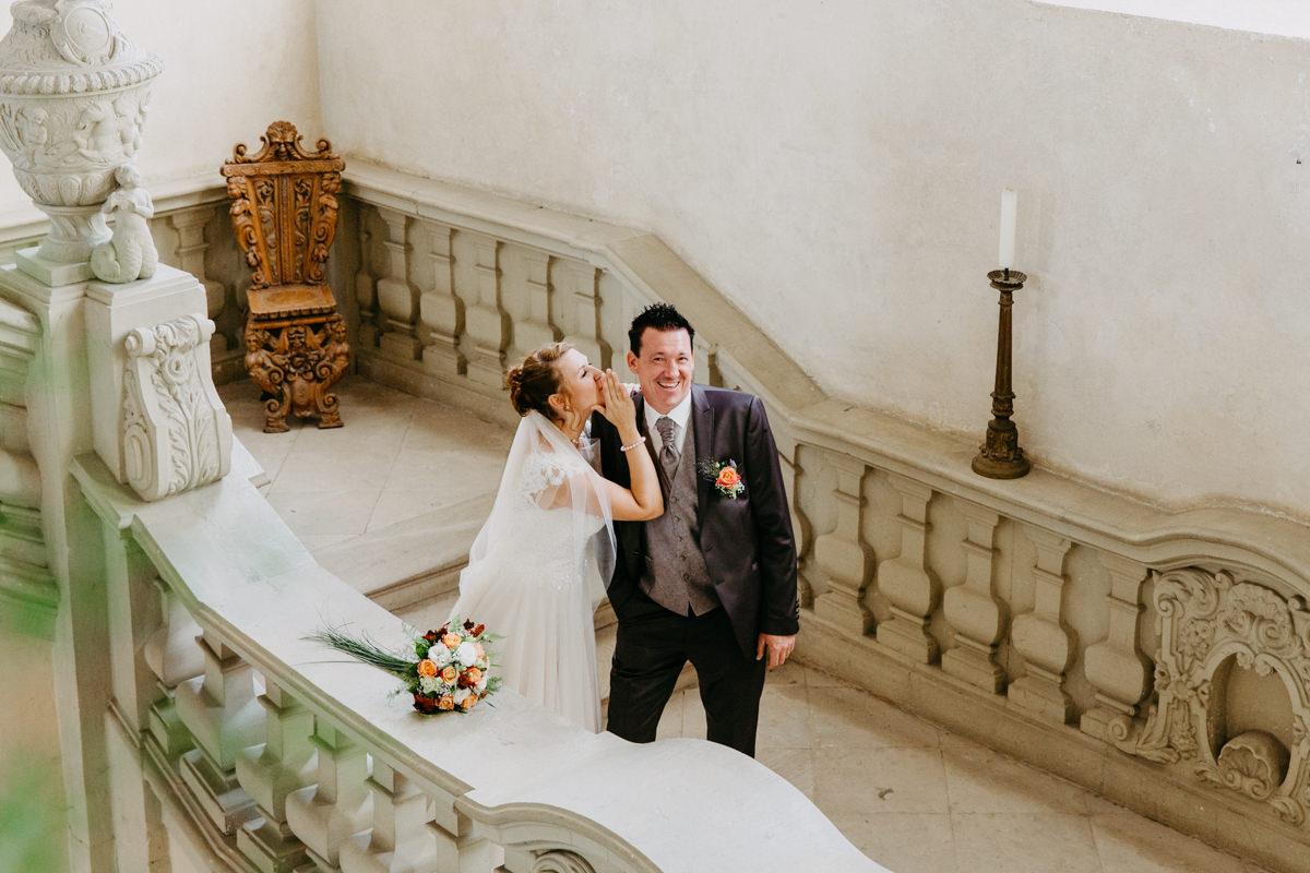 Schlosshochzeit, Hochzeit in Sulzheim, Schloss Sulzheim, Heiraten auf dem Schloss, Dorfhochzeit, Bauernhochzeit, Hochzeitsportraits im Schloss